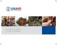 Partnering with USAID: A Guide for Companies - Feed the Future