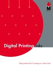 Download Digital Inks Brochure - Marabu Printing Inks
