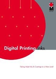 Download Digital Inks Brochure - Marabu Printing Inks