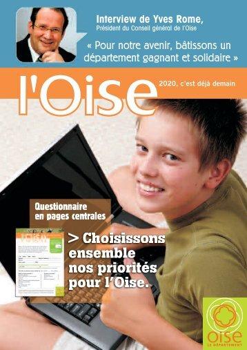 Numéro 42 supplément concertation - Conseil général de l'Oise