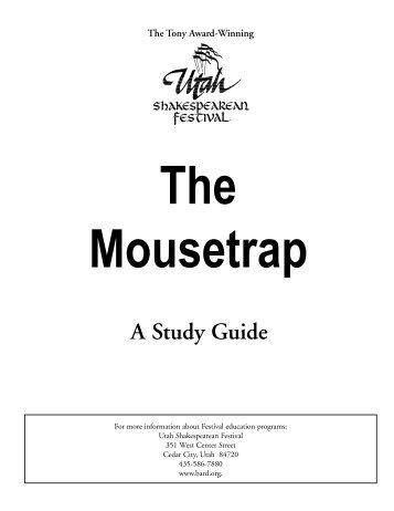 The Mousetrap - Utah Shakespearean Festival