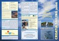 2006 brochure.pdf - Lazy Winch yacht charter sailing holidays.