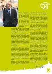 Agenda 21 de Bordeaux - Décembre 2008