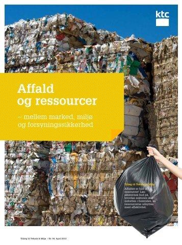 Affald og ressourcer - KTC