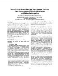 Minimization of dynamic and static power through joint assignment ...