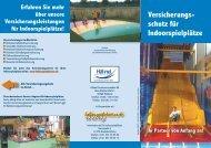 Versicherungs- schutz für Indoorspielplätze - Hallenspielplaetze.de