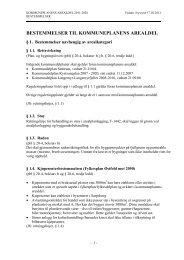 Bestemmelser og retningslinjer for arealbruken - Sarpsborg kommune