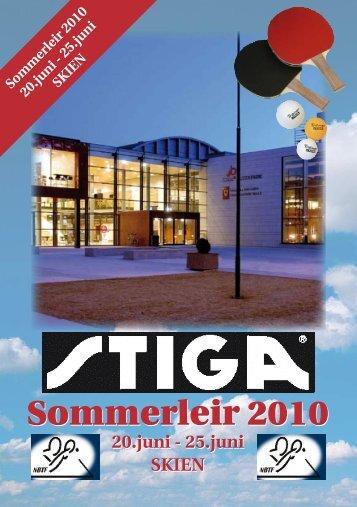 Invitasjon Stiga sommerleir - Norges Bordtennisforbund