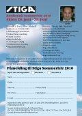 Invitasjon Stiga sommerleir - Norges Bordtennisforbund - Page 7