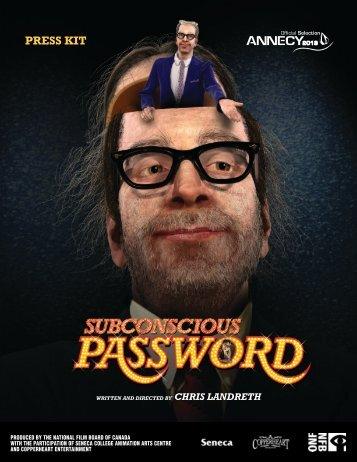 Subconscious Password Press Kit - Area - Autodesk