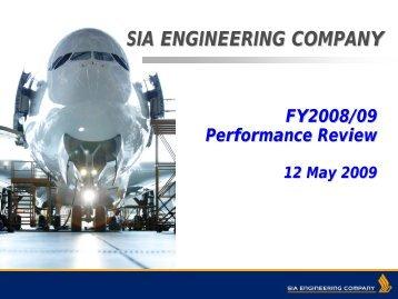 Analyst Presentation (pdf) - SIA Engineering Company