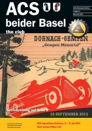 Ausgabe 3-2011 - Sektion beider Basel