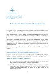 Maisons de santé interprofessionnelles et déontologie médicale