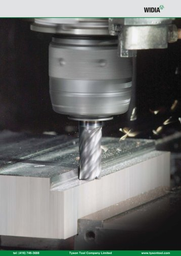 Solid End Milling - Tyson Tool Company Limited