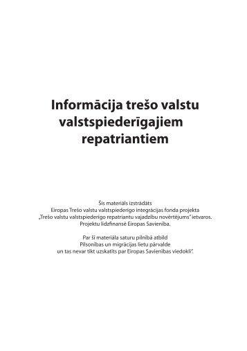 Lejuplādēt bukletu - Pilsonības un migrācijas lietu pārvalde