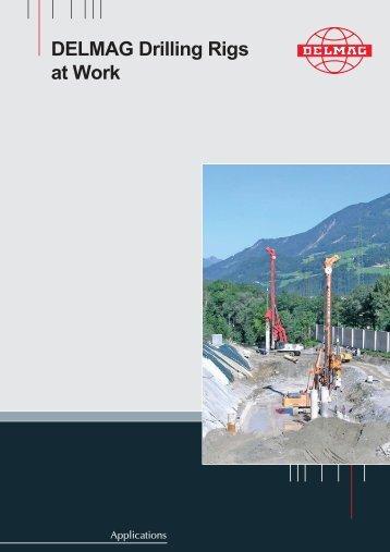 DELMAG Piling/Drilling Rigs Brochure - Steelcom
