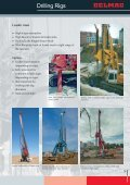DELMAG Piling/Drilling Rigs Brochure - Steelcom - Page 5