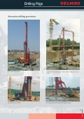 DELMAG Piling/Drilling Rigs Brochure - Steelcom - Page 7