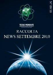 09.10 - raccolta news settembre - Tecno Piemonte