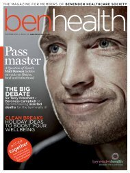 BenHealth Magazine - Beating Bowel Cancer
