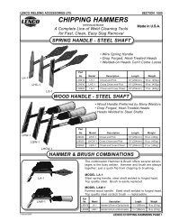 CHIPPING HAMMERS - Eoss.com