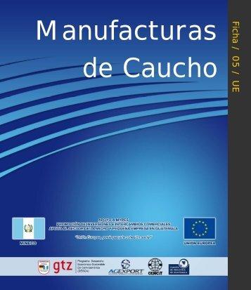 Ficha5. Manufacturas de Caucho