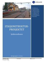 Spikkestadbanen.pdf - Jernbaneverket