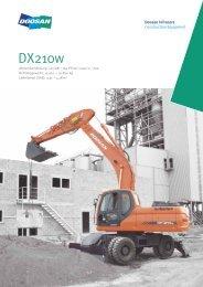 Produktbroschüre DX210W [PDF 2,31 MB] - Bobcat Bensheim ...