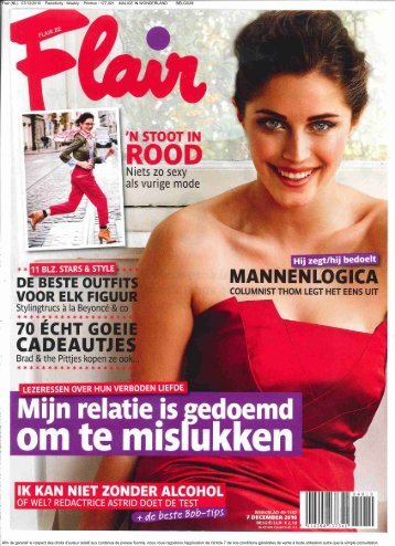 Flair (NL) 07/12/2010 Periodicity : Weekly Printrun - Malice In ...
