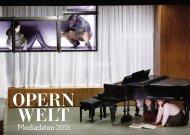Opernwelt 2013 - Kultiversum