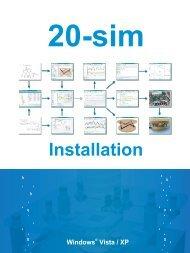 20-sim 4.1. For installation - iprom