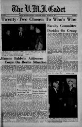 The Cadet. VMI Newspaper. October 27, 1961 - New Page 1 [www2 ...