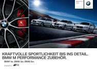 BMW M Performance Katalog - Christian Jakob AG