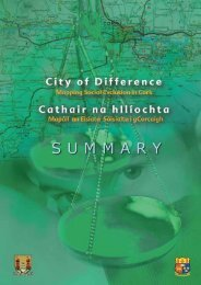 City of Differences Summary - Cork City Council