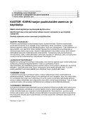 KASTOR KARHU - sarjan puukiukaiden asennus- ja käyttöohje - Page 4