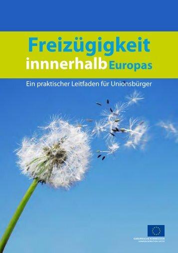 Ein praktischer Leitfaden für Unionsbürger - Europa
