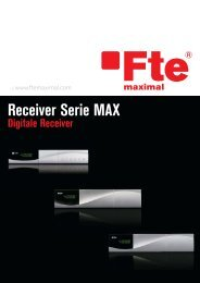 Multiflyer Digitale Receiver - FTE Maximal