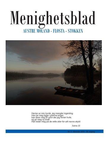Menighetsblad for Austre Moland, Flosta og Stokken nr.2 ... - Arendal