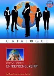 Entrepreneurship Case Studies Catalogue
