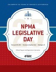 NPMA's Legislative Day - National Pest Management Association