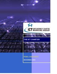 the ict charter final document