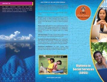 OPEN BSc. brochure2B-in - Open Campus - Uwi.edu