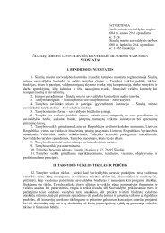 šiaulių miesto savivaldybės kontrolės ir audito tarnybos nuostatai