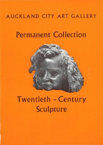 Permanent Collection Twentieth - Century Sculpture - Auckland Art ...