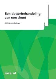 mca.nl Een dotterbehandeling van een shunt