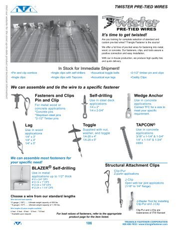 TFC Guide_Pg. 2-52.indd - Triangle Fastener