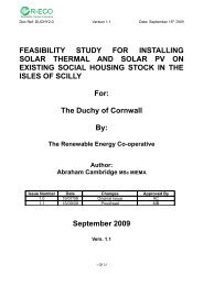 FEASIBILITY STUDY FOR INSTALLING SOLAR THERMAL ... - IEMA