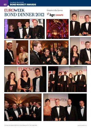 Bond dinner 2012 - EuroWeek.com