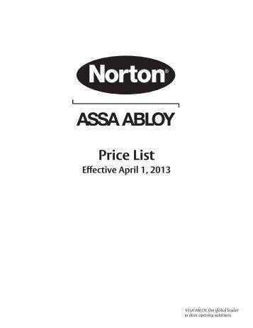 Norton Price Book - Top Notch Distributors, Inc.