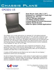 CPCSD1-15 - Chassis Plans